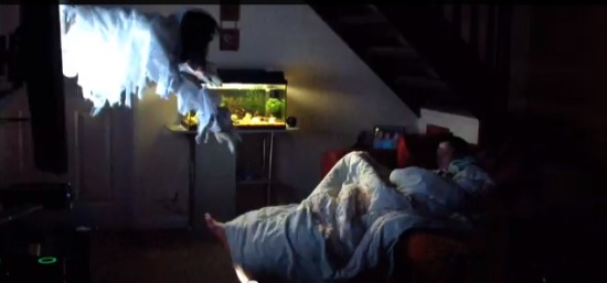 Guy terrifies girlfriend with most elaborate wake-up prank ever - Guyism