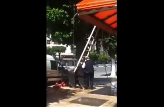 How Not to Use a Ladder | Video on Clip Nation