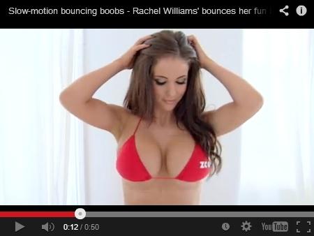 3 מיליון צפיות: סרטון הציצים הקופצים שכבש את הרשת